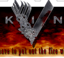 Vikings Tv Shows Sticker