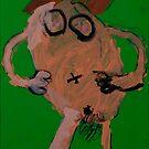 Naked Mummy by Zoe Thomas Age 5 by Julia  Thomas