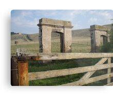 some ruins at Stanley, Tasmania Metal Print