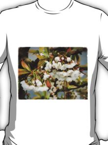 Flower Art - Apple Blossoms T-Shirt