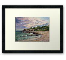Sunset - Merimbula Framed Print