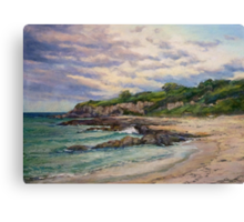 Sunset - Merimbula Canvas Print
