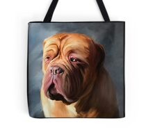 Stormy Dogue Tote Bag