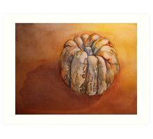 Pumpkin Before Soup  'Still Life' © Patricia Vannucci 2008 Art Print