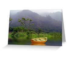 Rainforest Mist Greeting Card