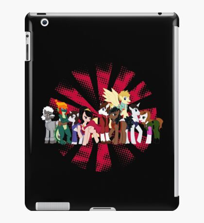 Big Damn Ponies iPad Case/Skin