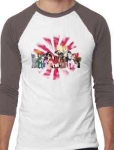 Big Damn Ponies Men's Baseball ¾ T-Shirt