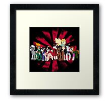 Big Damn Ponies Framed Print
