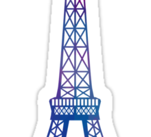 Eiffel Tower Paris Sticker