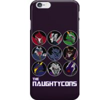 The Naughtycons iPhone Case/Skin