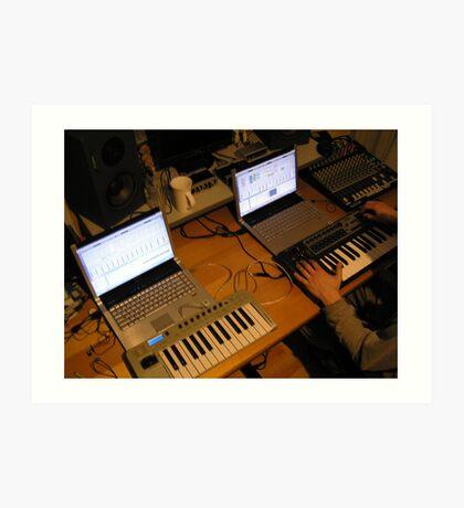 Sontage Equipment Art Print