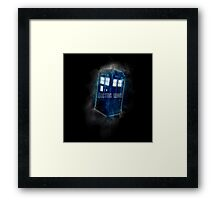 Doctor Who - DARK COLORS - Framed Print