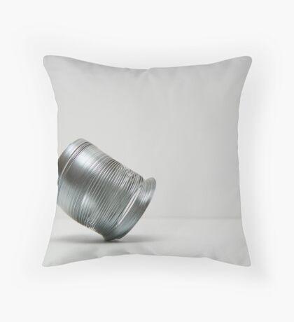 The Tiptoe. Throw Pillow
