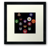 Thirteen Riders Framed Print