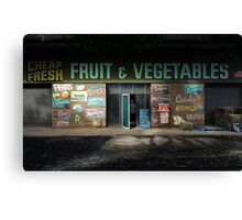 fruit and vegetables, country Australia Canvas Print