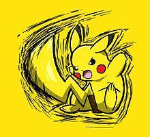 Pikachu by Hawke525