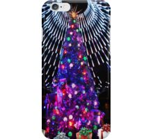 Dome of lights on Christmas tree at the Casino. iPhone Case/Skin