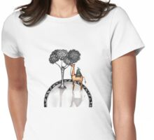 One hump Womens Fitted T-Shirt
