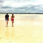 Cotton Tree Beach, Qld, Australia by Jeannine de Wet