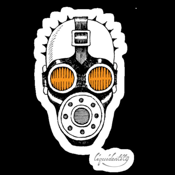 Gasmask by liquidentity