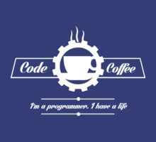 programmer : code and coffee. I am a programmer. I have a life by dmcloth
