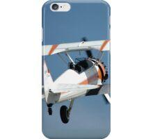 Stearman Departure @ Melton Air Show 2010 iPhone Case/Skin