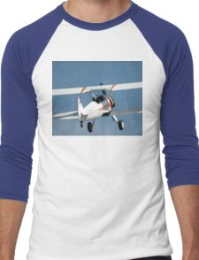 Stearman Departure @ Melton Air Show 2010 Men's Baseball ¾ T-Shirt