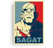 Sagat, Street Fighter Canvas Print