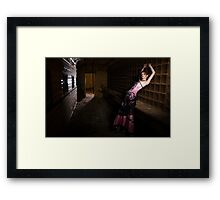 The Mail Train Framed Print