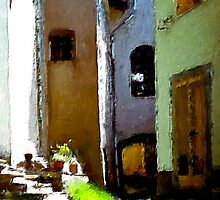 A Street in Italy by Barry Thomas
