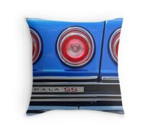 Triple Red Throw Pillow