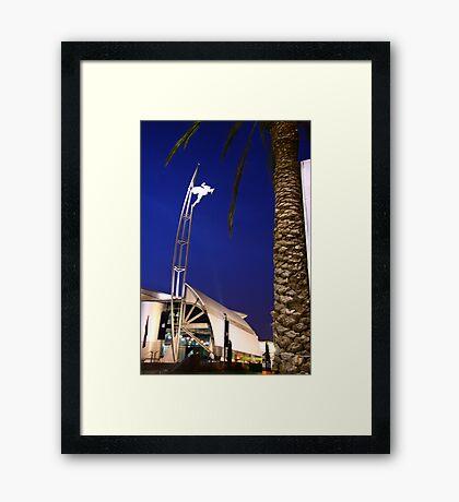 Convention Center Framed Print