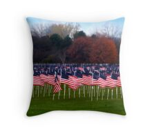 For the Soldiers Throw Pillow