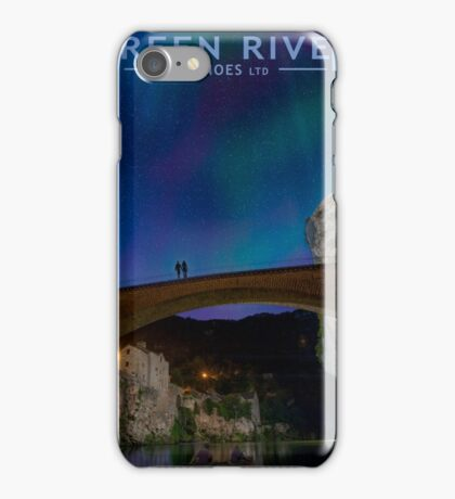 Explore Northern Lights iPhone Case/Skin