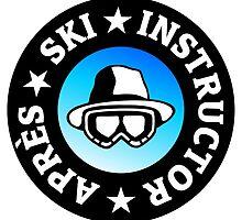 Après-Ski Instructor by theshirtshops
