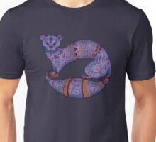 purple furry fuzzy ferret Unisex T-Shirt
