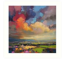 Fife Fields Art Print