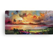 Arran Optimism Canvas Print