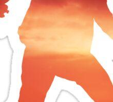 Delsin Rowe Silhouette Sticker