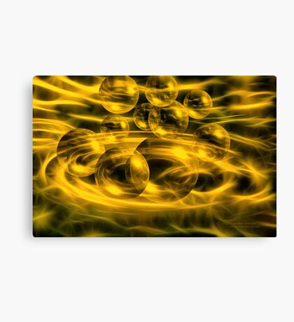 Bubbling Over Canvas Print