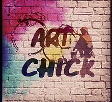 ART CHICK by EMana-Lier-