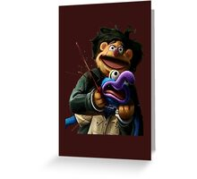 Gonzo's murder Greeting Card