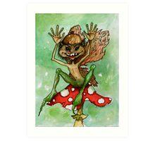 Crazy Pixie Art Print