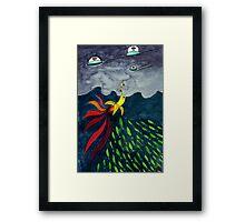 The Aventure of Mr.Banana Framed Print