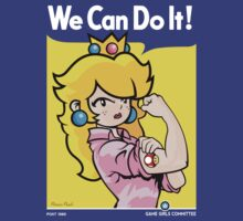 We can do it, game girls! by DemonigoteTees