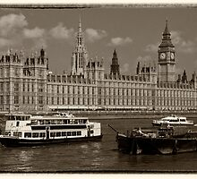Parliament Boats  by Rob Hawkins