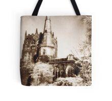 Ormskirk parish church Tote Bag