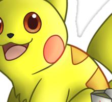 Helen the Pikachu Design Sticker