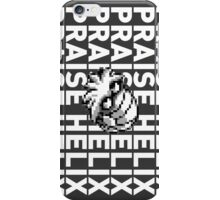 Praise the Helix Fossil! iPhone Case/Skin