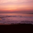 Sunrise on Bay of Bengal by Aurobindo Saha